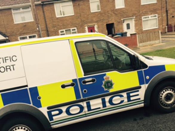 Merseyside police scientific support team